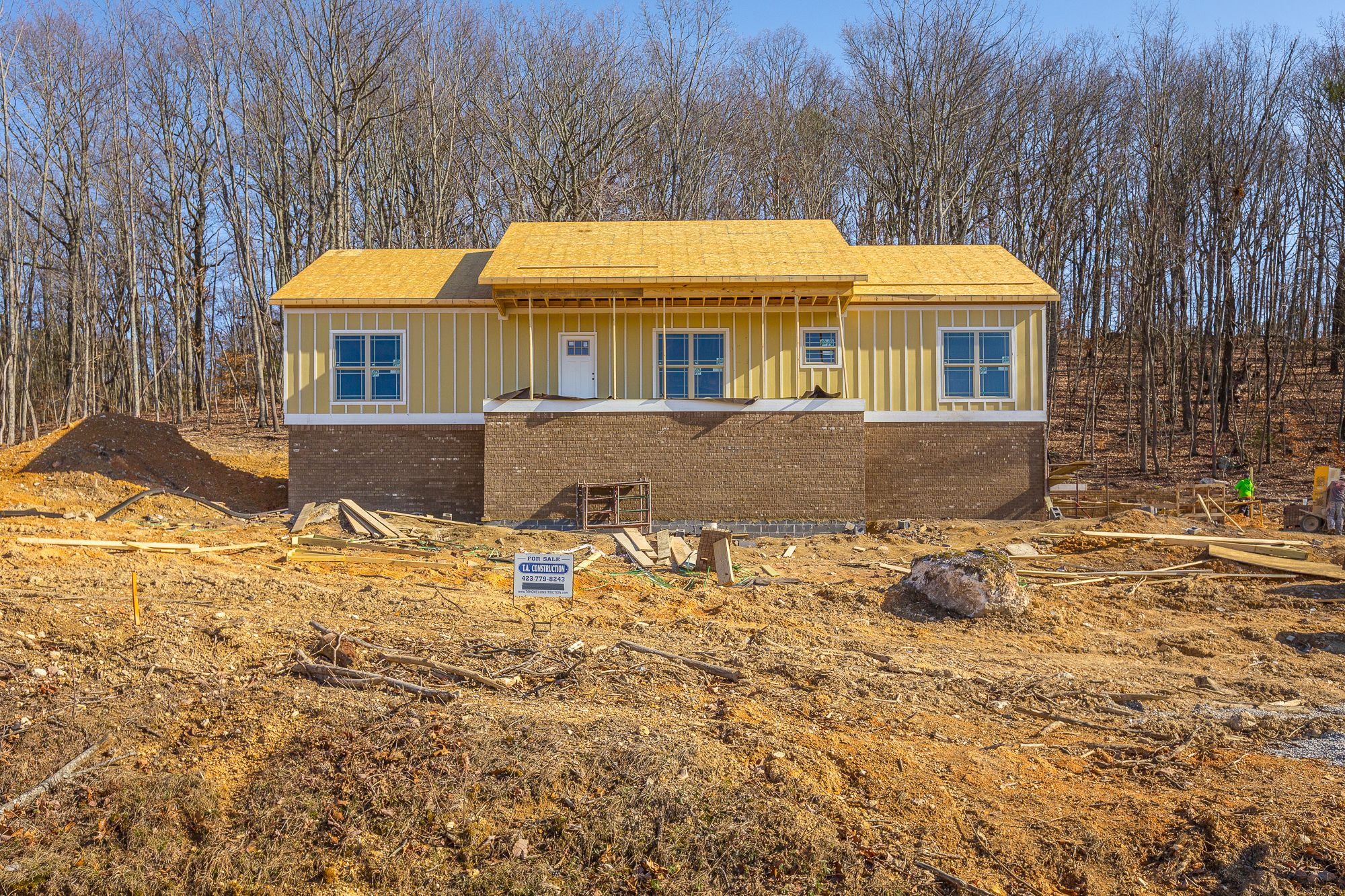 Sold. 3716 Alabama Rd. Apison. New construction, one-level home with a full basement and situated on a 1.3 +/- acre lot. 3 BR, 2 BA, open living concept, covered front and back porches. MLS# 1258604. $269,900.  The Paula McDaniel Group  Cell: 423-355-0311 * Office: 423-362-8333   Real Estate Partners Chattanooga, LLC. Equal Housing Opportunity. Licensed in TN and GA.