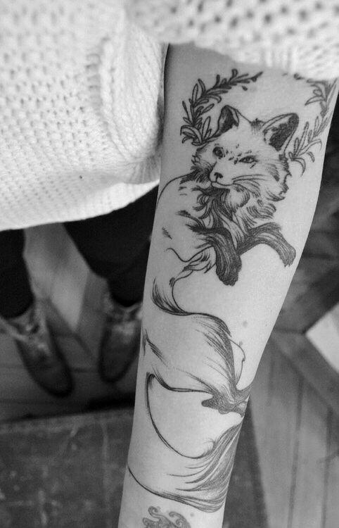 Fox Half Sleeve Inspirational Tattoos Tattoos Fox Tattoo Design