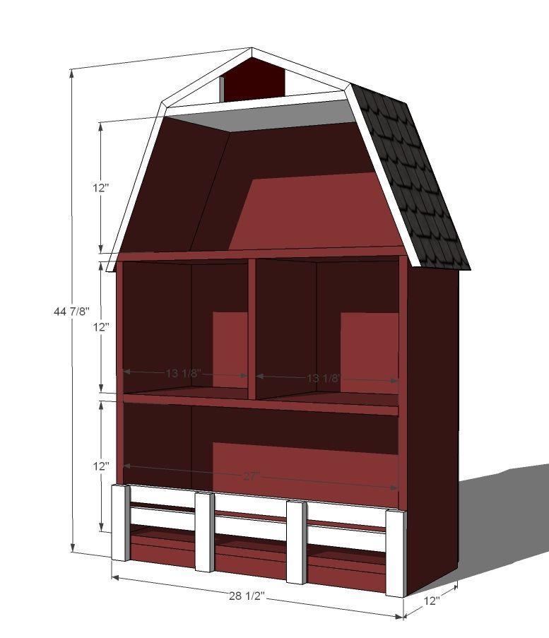 Build A Barn Bookshelf
