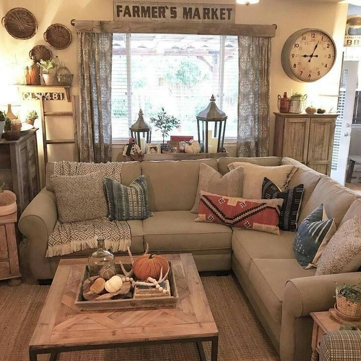 Pin By K Tizzle On Curtains Modern Farmhouse Living Room