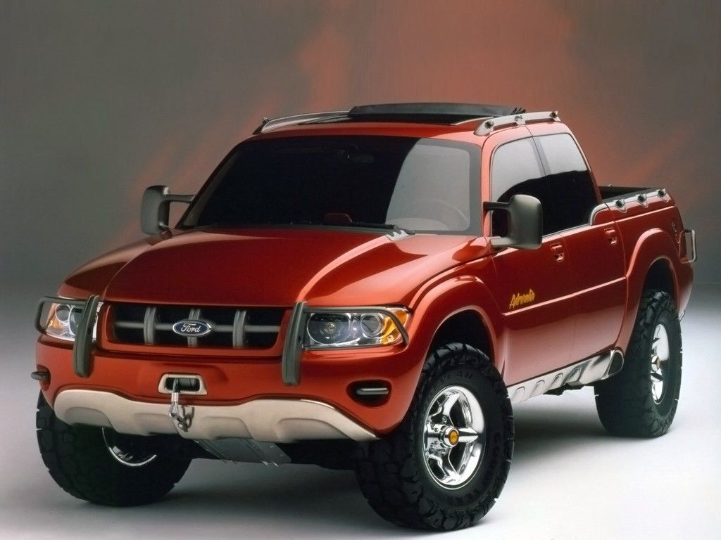 1996 Ford Adrenalin Concept Truck Автомобили, Мотоцикл
