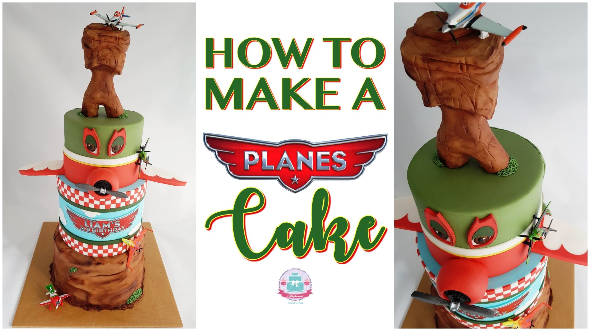 Planes Cake (Youtube Tutorial)