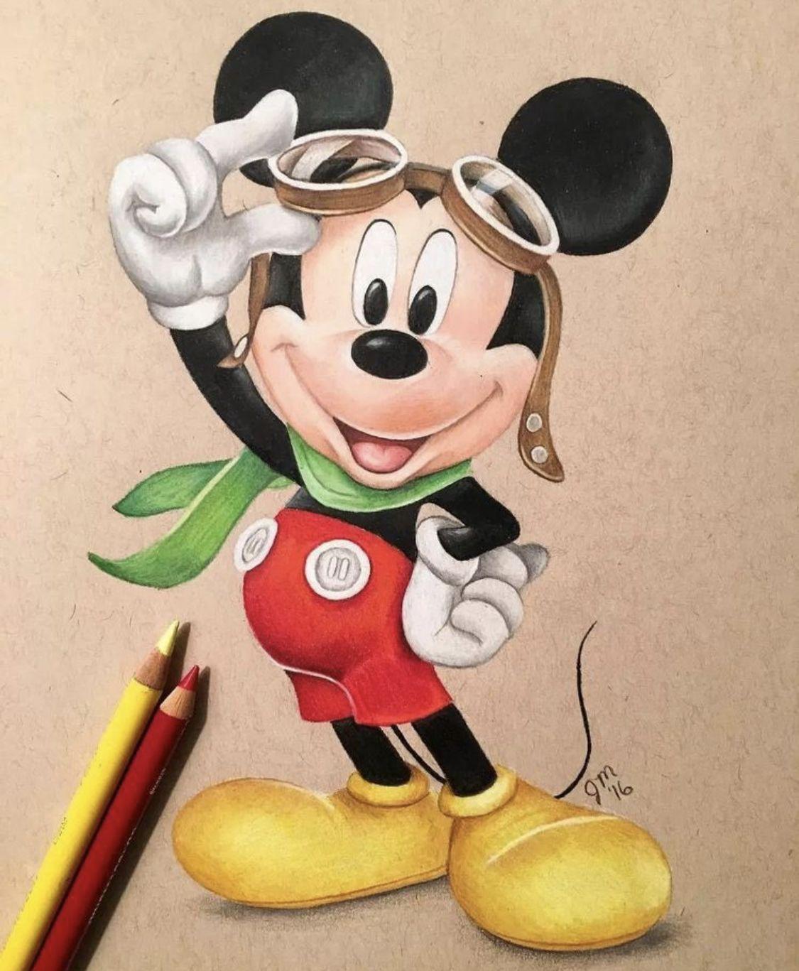 Mickey Mouse Mickey Mouse Drawings Mouse Drawing Disney Art Drawings