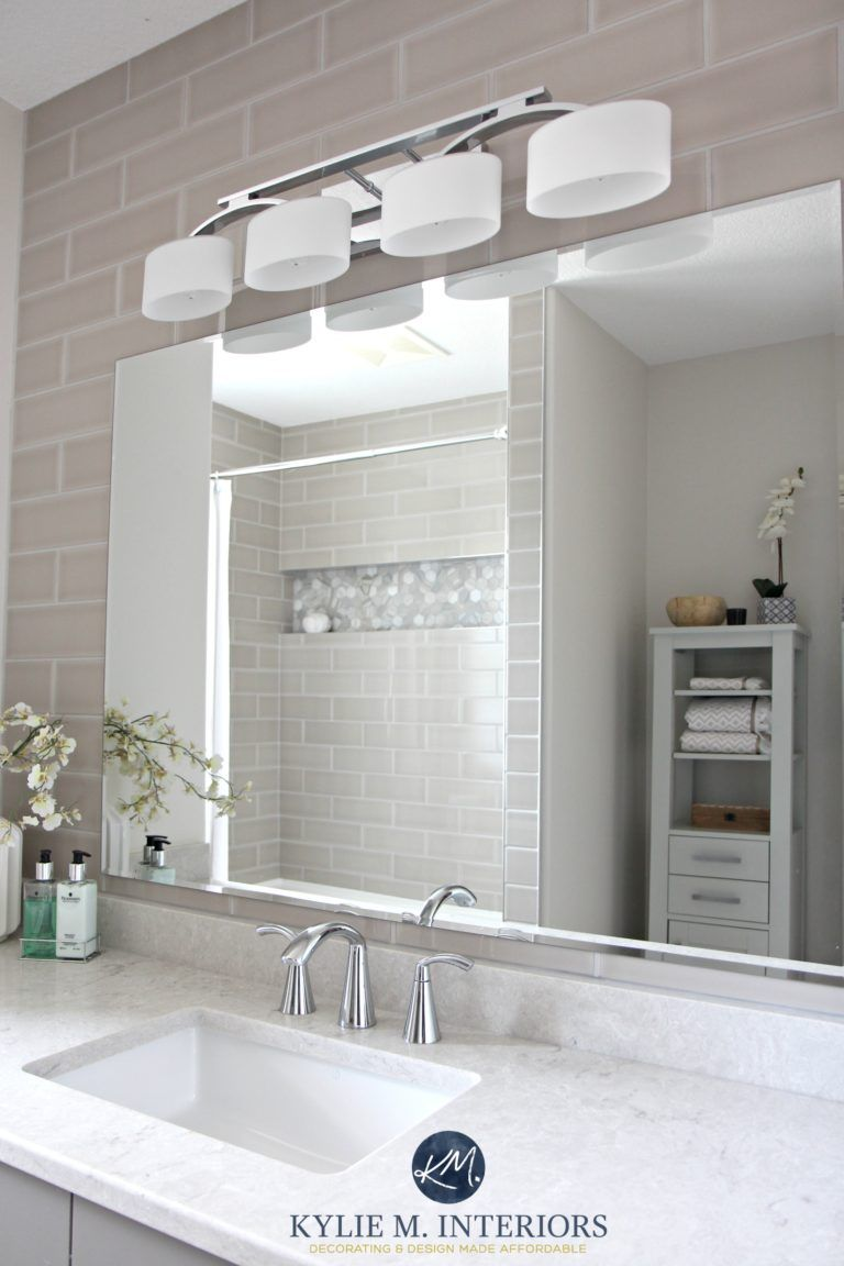 Our Bathroom Remodel – Greige, Subway Tile and More…   Pinterest ...