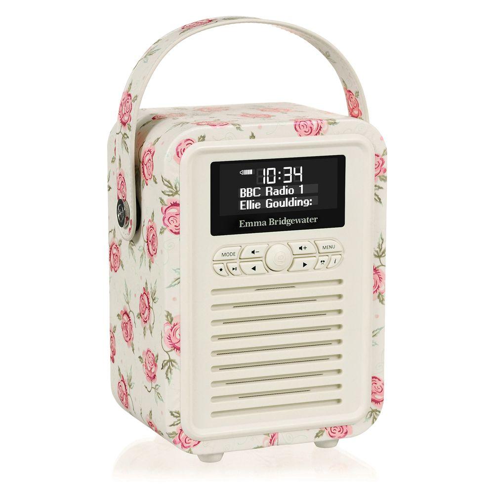 Emma Bridgewater Rose & Bee Mini Retro Bluetooth Radio.. I would ...