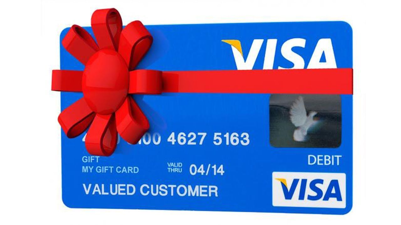 How To Take Money Off Of A Visa Gift Card