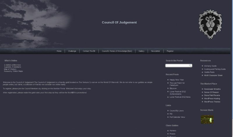 Custom theme for Council of Judgement. Not for reuse.
