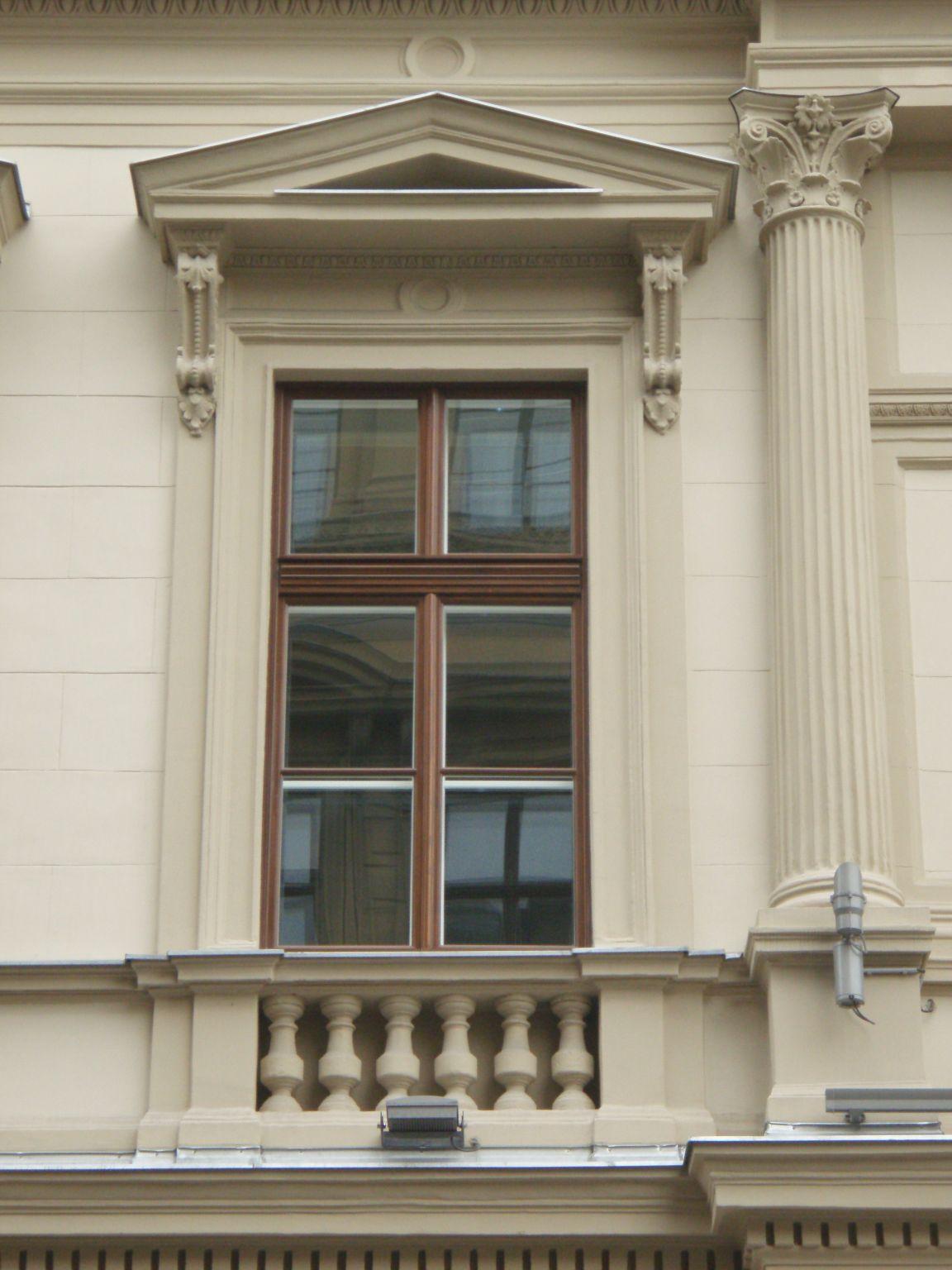 Budapest, Fő utca LÁNCHÍD PALOTA, műemléki védettségű fokozott hő ...