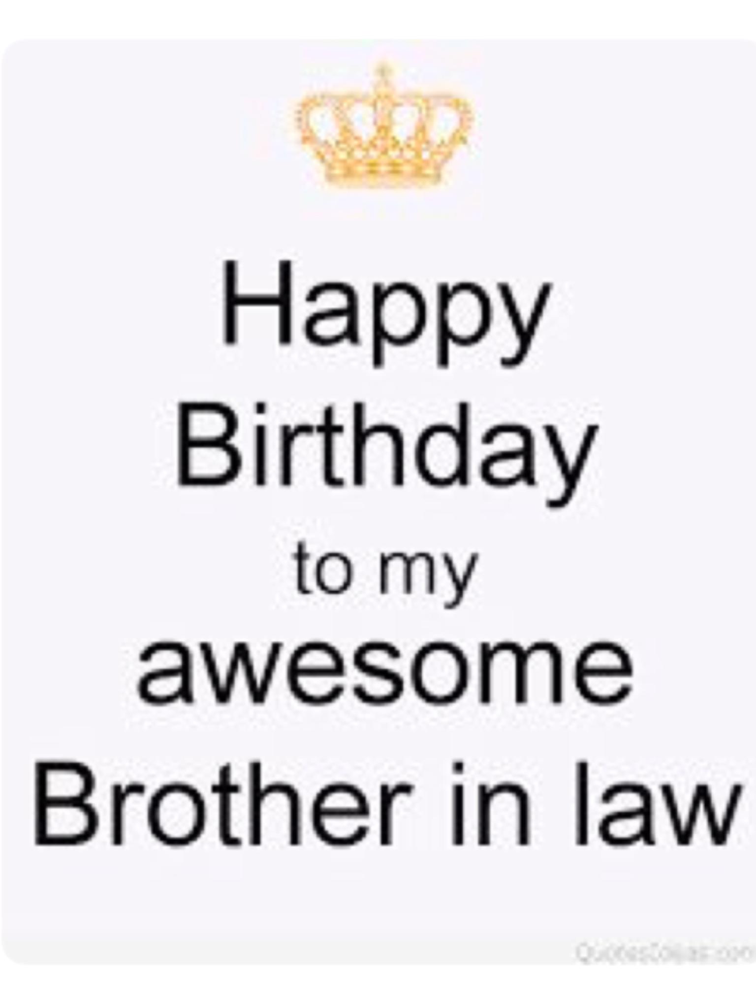 Pin By Maria Oliu On Birthday In Law S Birthday Brother In Law Happy Birthday Brother Happy Birthday Fun