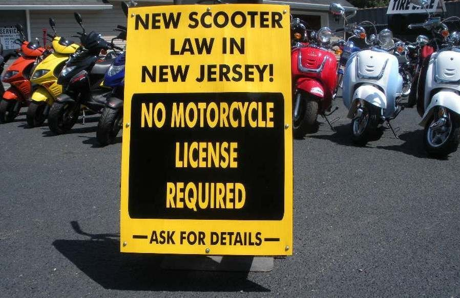 New Scooter Law In Nj 50cc Scooters No Motorcycle License Required
