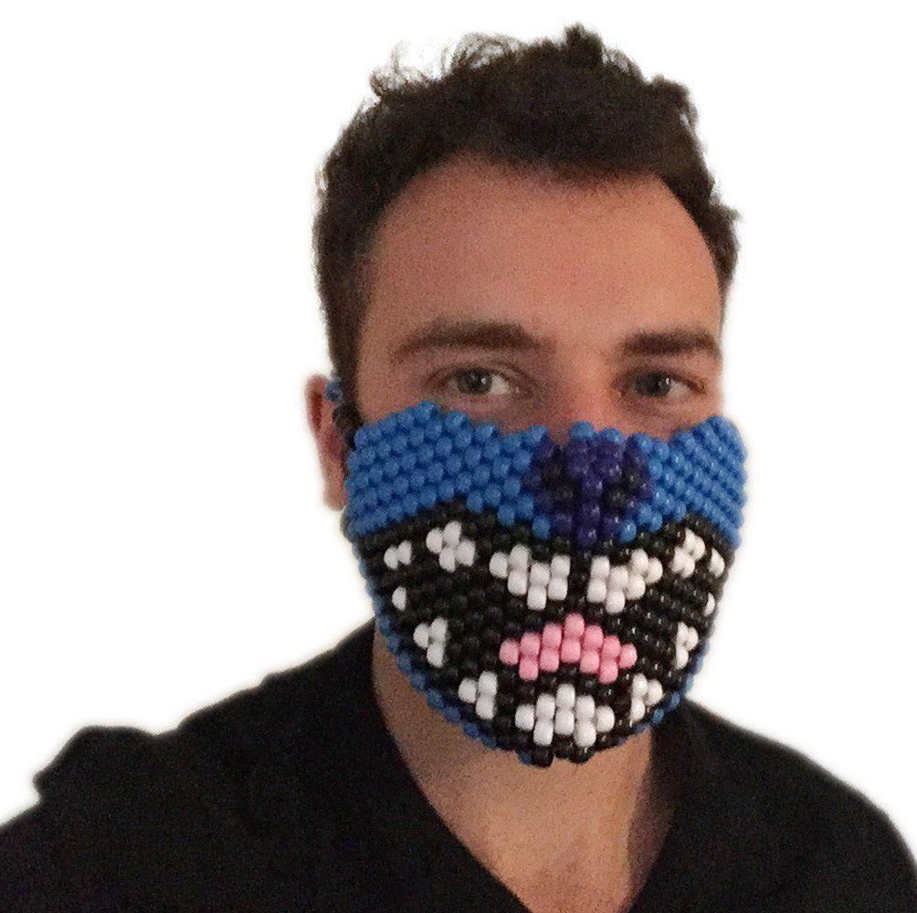 Lilo And Stitch Kandi Mask Full Rave Gear