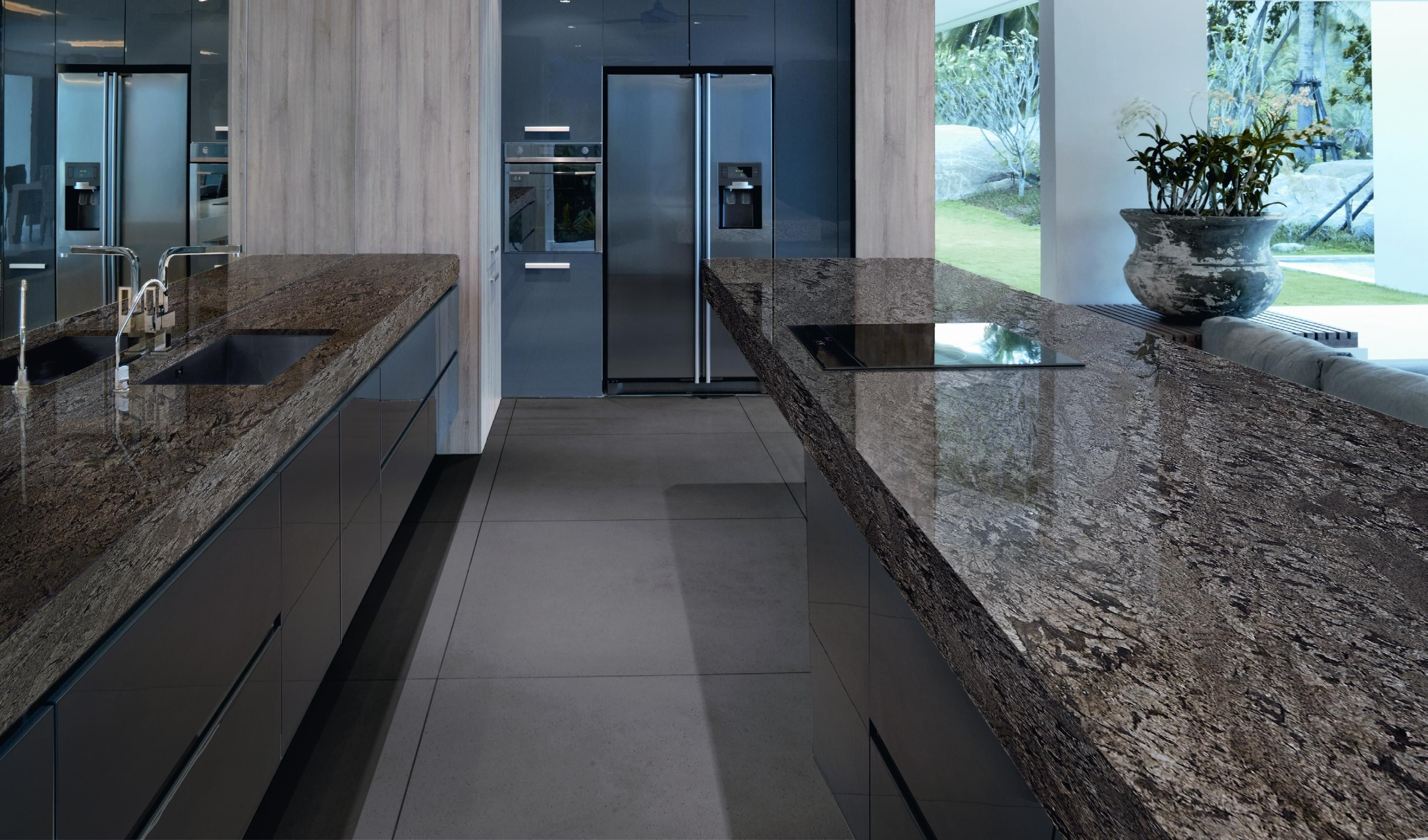 Feratto Is A New Addition To Levantina S Extensive Collection Of Granites It Is Extracted From One Of Levantina S Encimeras Encimeras De Cocina Cocina Granito