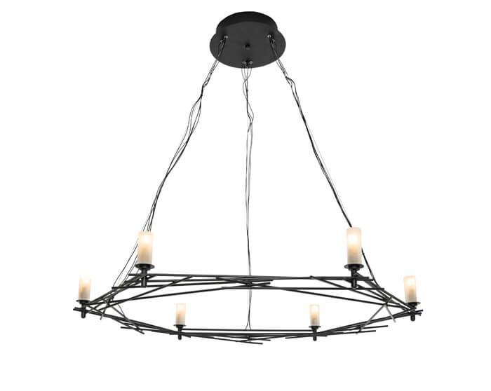 Twigs chandelier this simplistic ceiling lamp comprises fine twigs chandelier this simplistic ceiling lamp comprises fine brass rods sculpted and organized in the shape of a wreath it features delicate milky mozeypictures Images