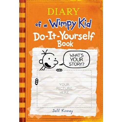 Diary of a wimpy kid do it yourself book harry n abrams toys diary of a wimpy kid do it yourself book harry n abrams solutioingenieria Image collections