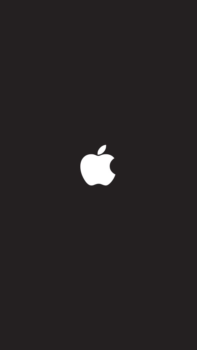 White Apple Logo On Black Background Places To Visit In 2019
