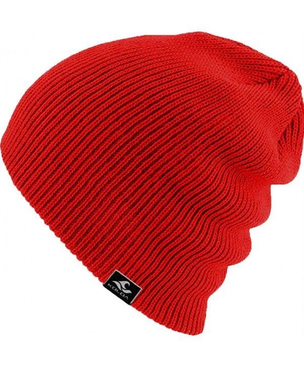 1ab081bbb3b Men s Retro Beanie Slouchy Knit Skull Cap Winter Hat B5001-G - Stripe-light  Grey - C212O6COSRM in 2019