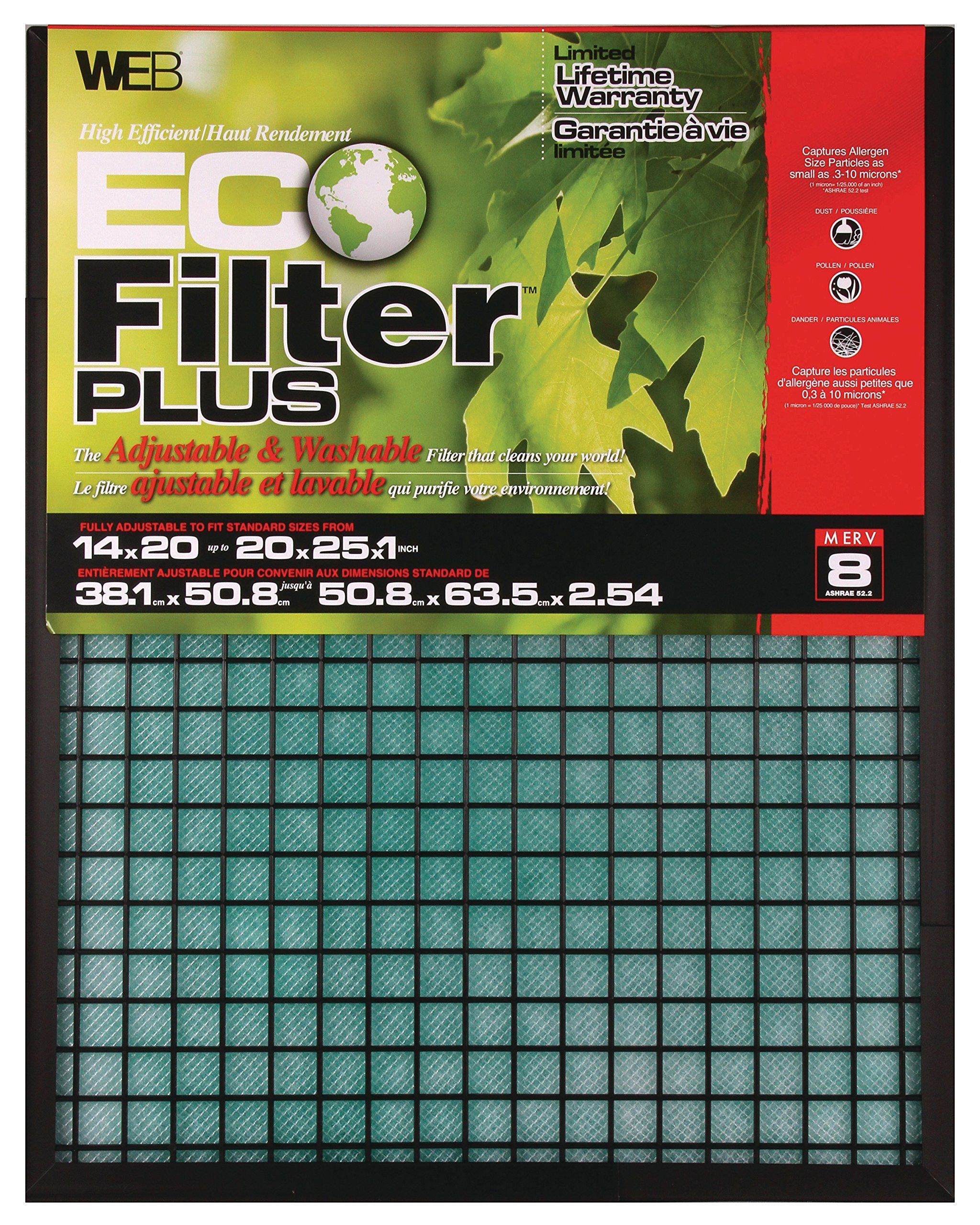 AmazonSmile WEB WPLUS Eco Filter Plus Adjustable Air