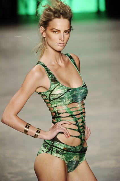Michaela Kocianova Rio Fashion Week S S 2011 Models Inspiration Fashion Fashion Week Swimwear
