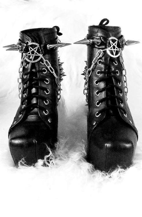 402a9b9dec Satanic boots