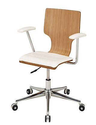 Bamboo Office Chair M S Modern Office Chair Office Chair Adjustable Office Chair