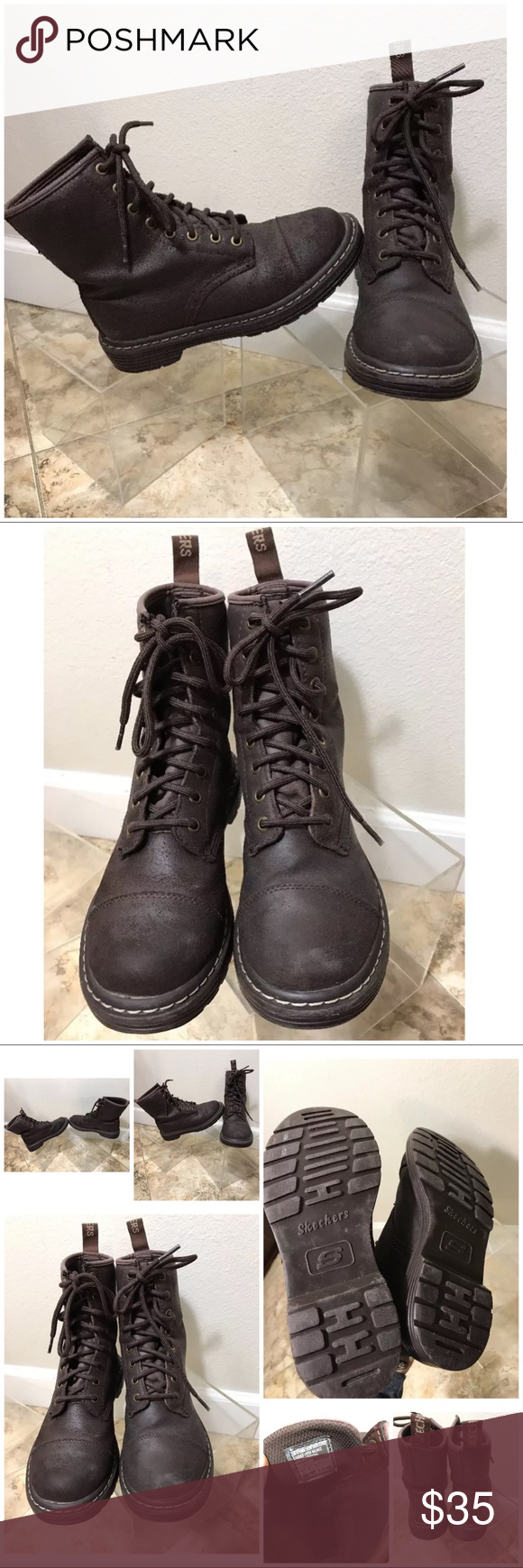 brown leather boots 5.5