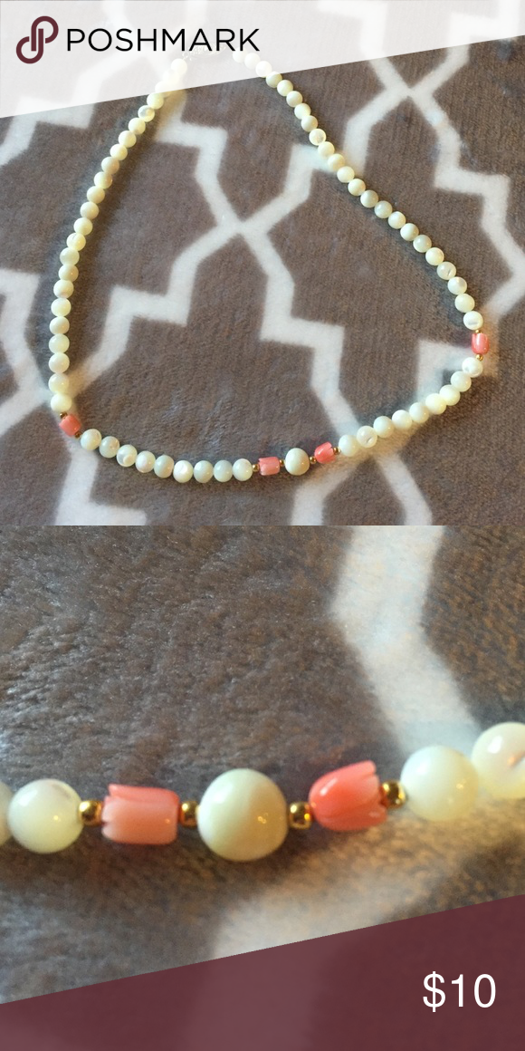 """Fashion Jewelry - Pearl Necklace Costume Jewelry. Never worn. Measures 17"""" when not clasped together. Jewelry Necklaces"""