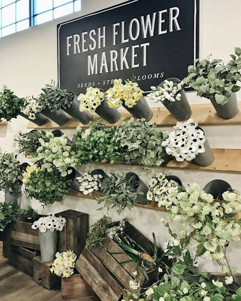 Magnolia Fresh Flower Market From Liz Maries Blog Flower Markets