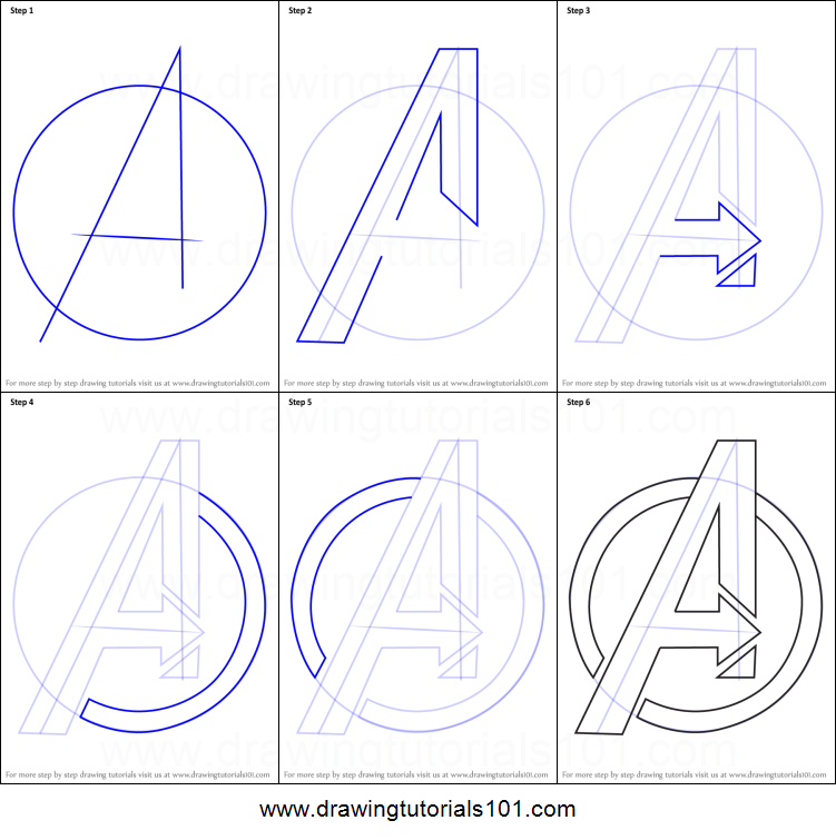 Ez Orara Otthora Is In 2020 How To Draw Avengers Avengers Logo Avengers Drawings