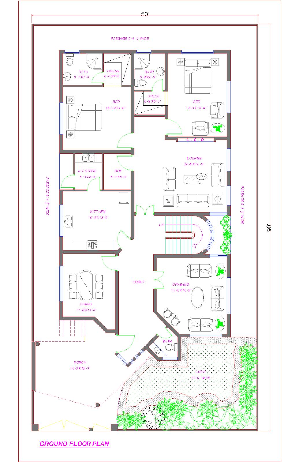 House Gates Pictures Pakistan Model House Plan House Layout Plans Home Design Plans