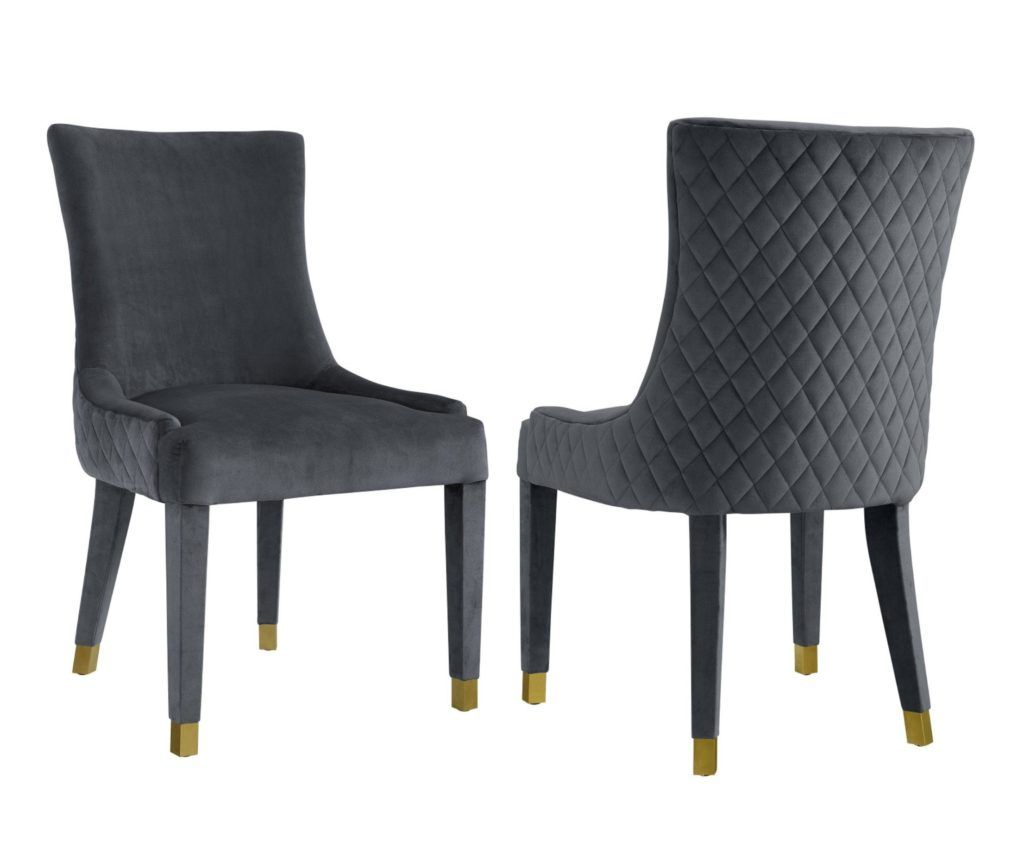 22++ Grey dining chairs set of 2 Best