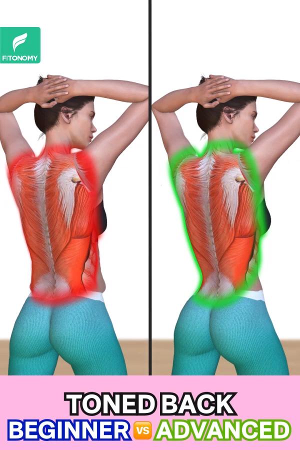 TONED BACK -   16 fitness Mujer espalda ideas