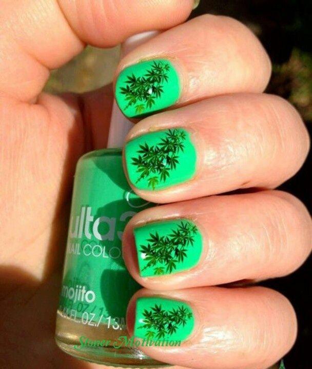 marijuana nail art - Yahoo Image Search Results | nail art ...