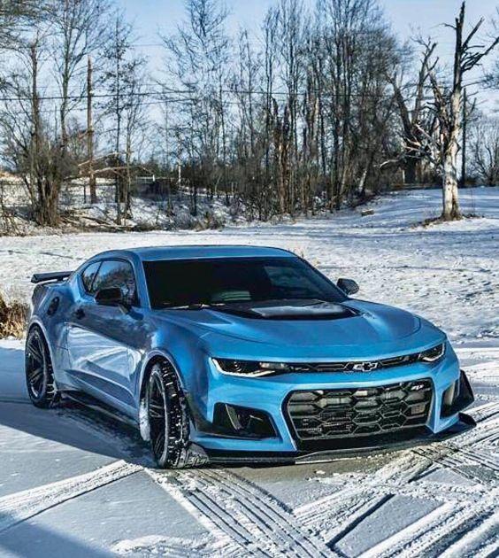 #Chevy Camaro Blue & More Details At Chevrolet Dealer In
