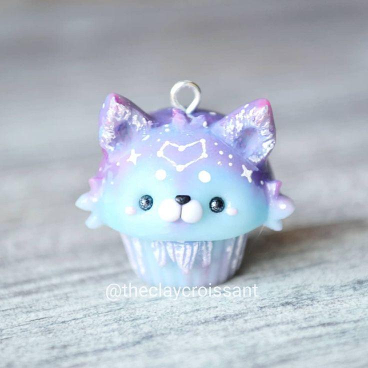 "Meghan on Instagram: ""Galaxy Wolf Cupcake ??? • •"