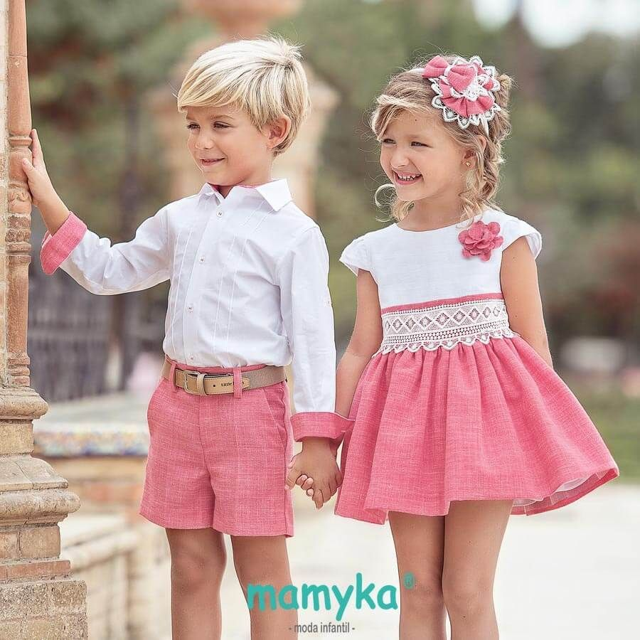 cee47d1a0 Vestido niña, colección Grosella, Primavera 2019 | Miranda | ropa ...