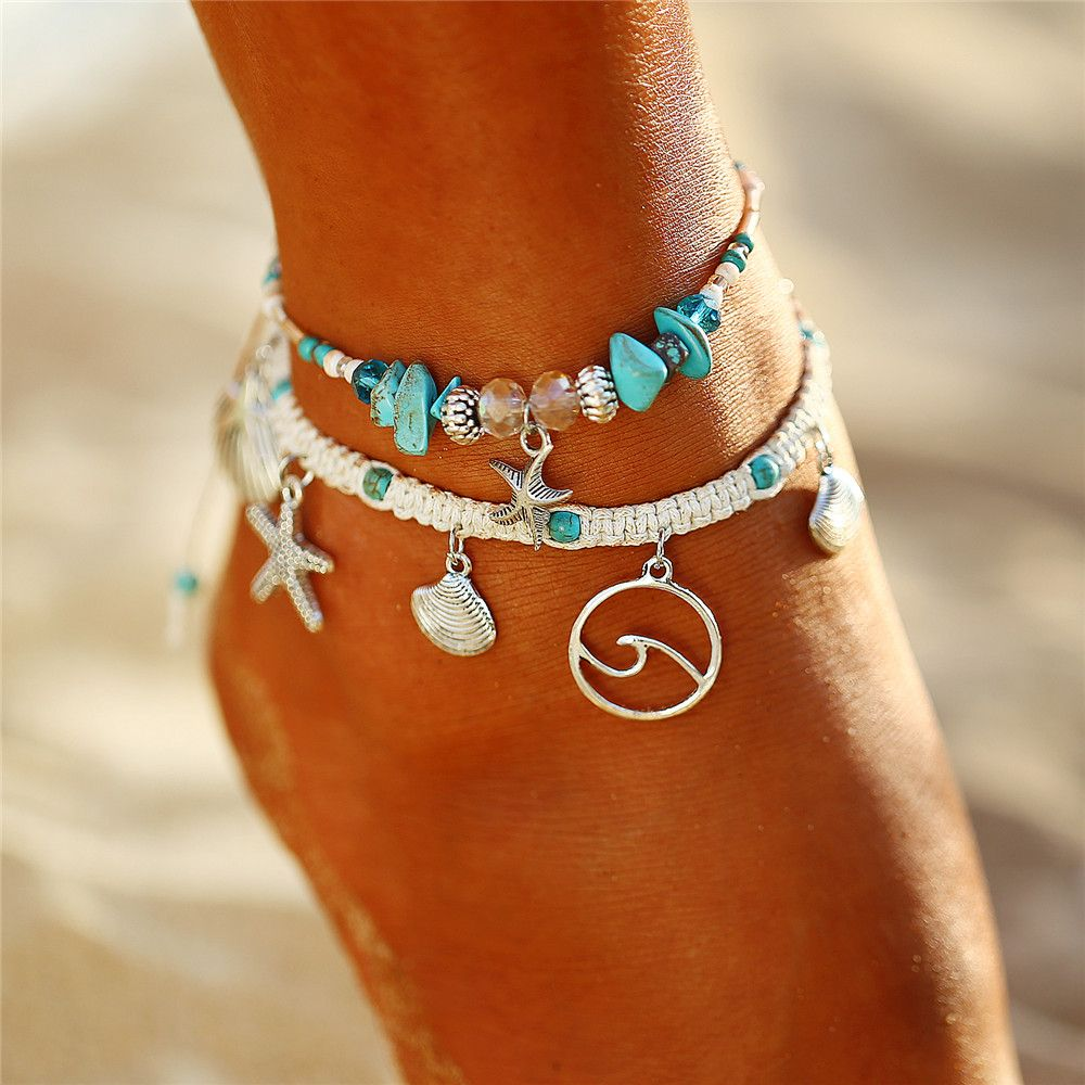 c78f0799a3661b such a anklet will look great on tanned skin. | 17mile | Jewelry ...