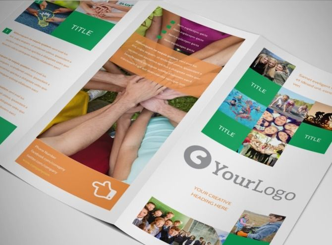 sample non profit brochures - Google Search | ideas MissaoEducar ...