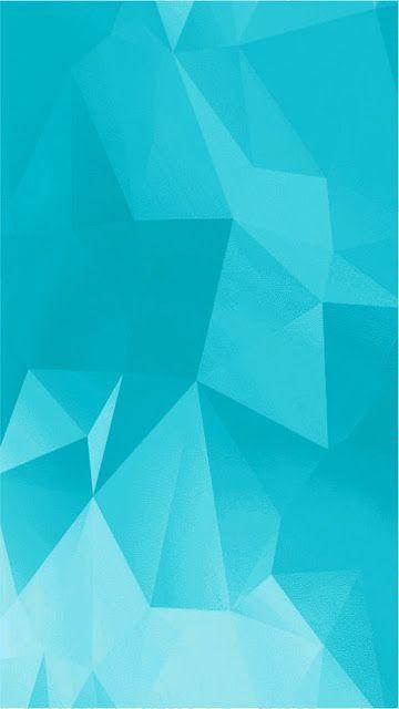 Polygon Sky Blue Mobile Wallpaper In 2019 Mobile Wallpaper