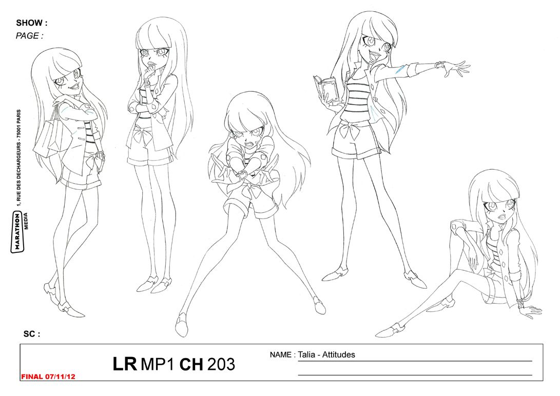 The Is Official Concept Art Of Talia From Lolirock Found At Teamlolirock Tumblr Com Art Concept Art Art Sketches