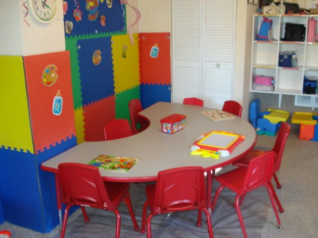 Home daycare setup pictures.