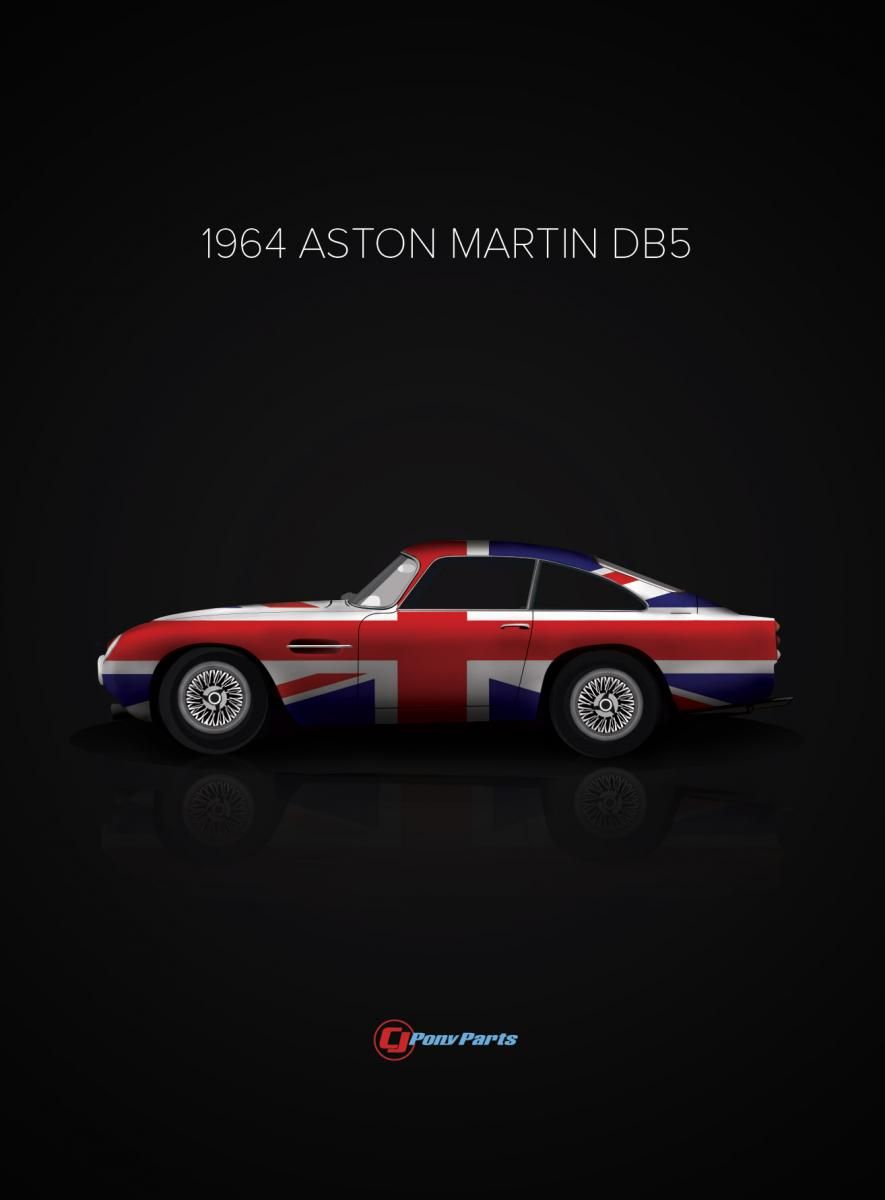 Classic Cars And Their Country Of Origin Poster Series Aston Martin Db5 Aston Martin Db5 Aston Martin Classic Cars