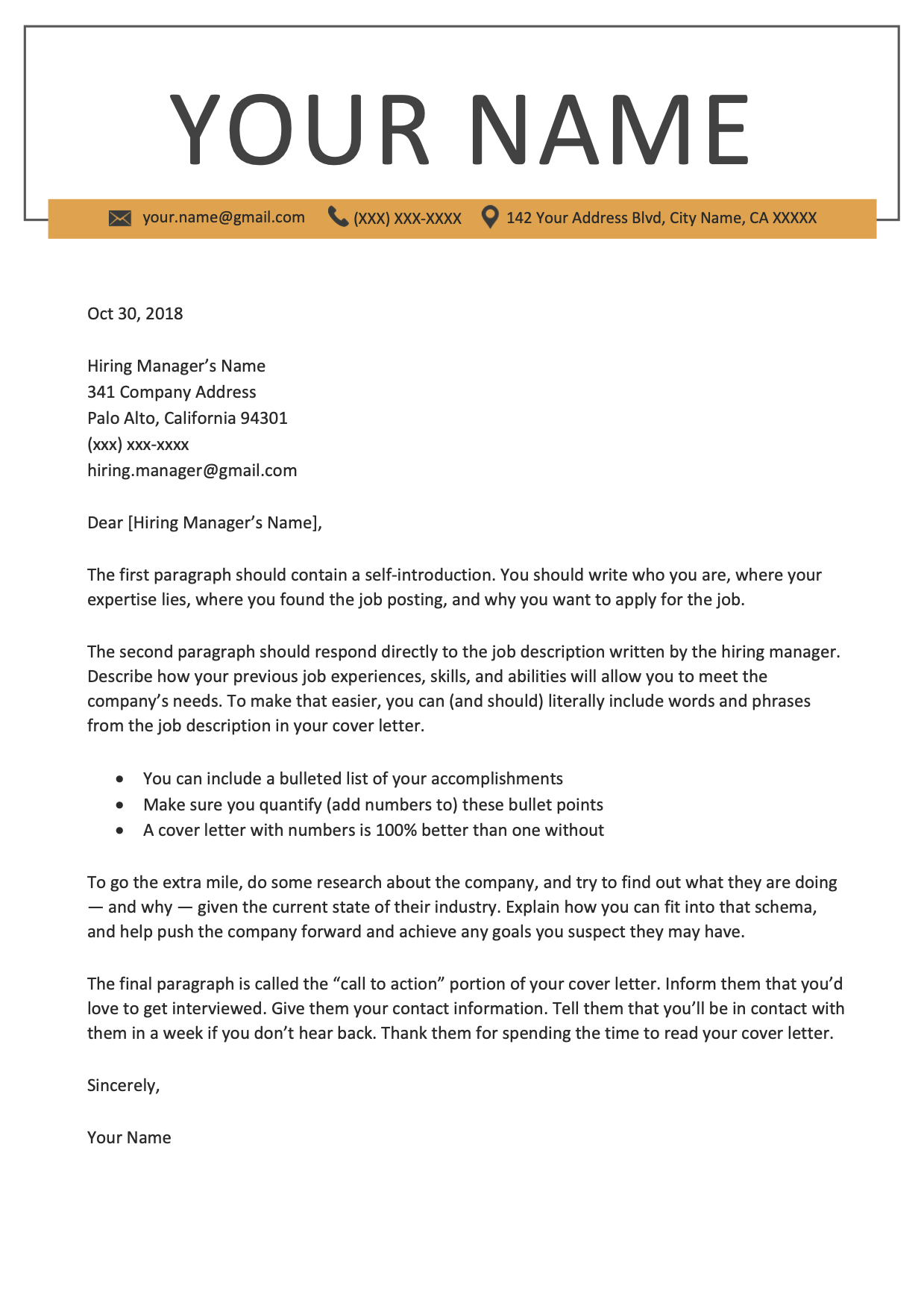professional cover letter templates (with images) program manager resume examples 2017 customer service objective linkedin profile editing