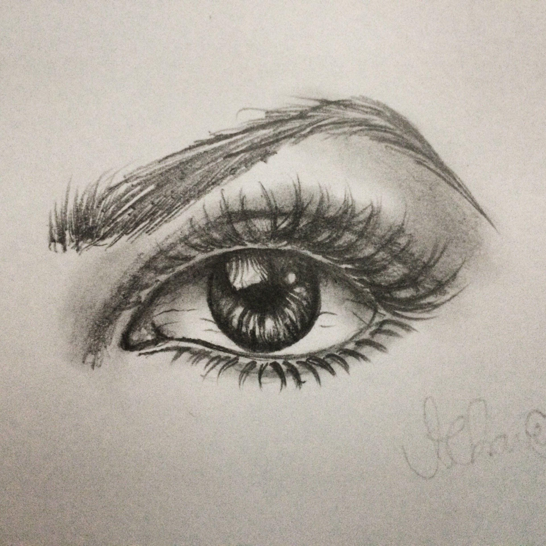 Como Desenhar Olho Realista Passo A Passo Olhos Desenho