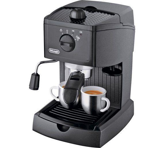 Buy De Longhi Ec146 Espresso Cappuccino Coffee Machine Coffee Machines Home Coffee Machines Espresso Coffee Machine Cappuccino Maker