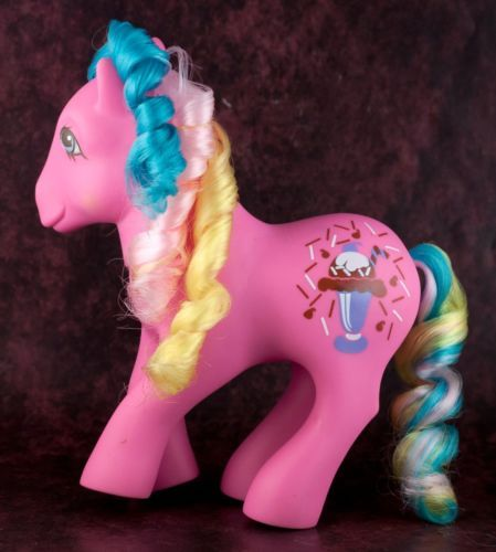 Vintage-G1-My-Little-Pony-Soda-Sippin-Chocolate-Delight-MLP-1991-1992-Year-10