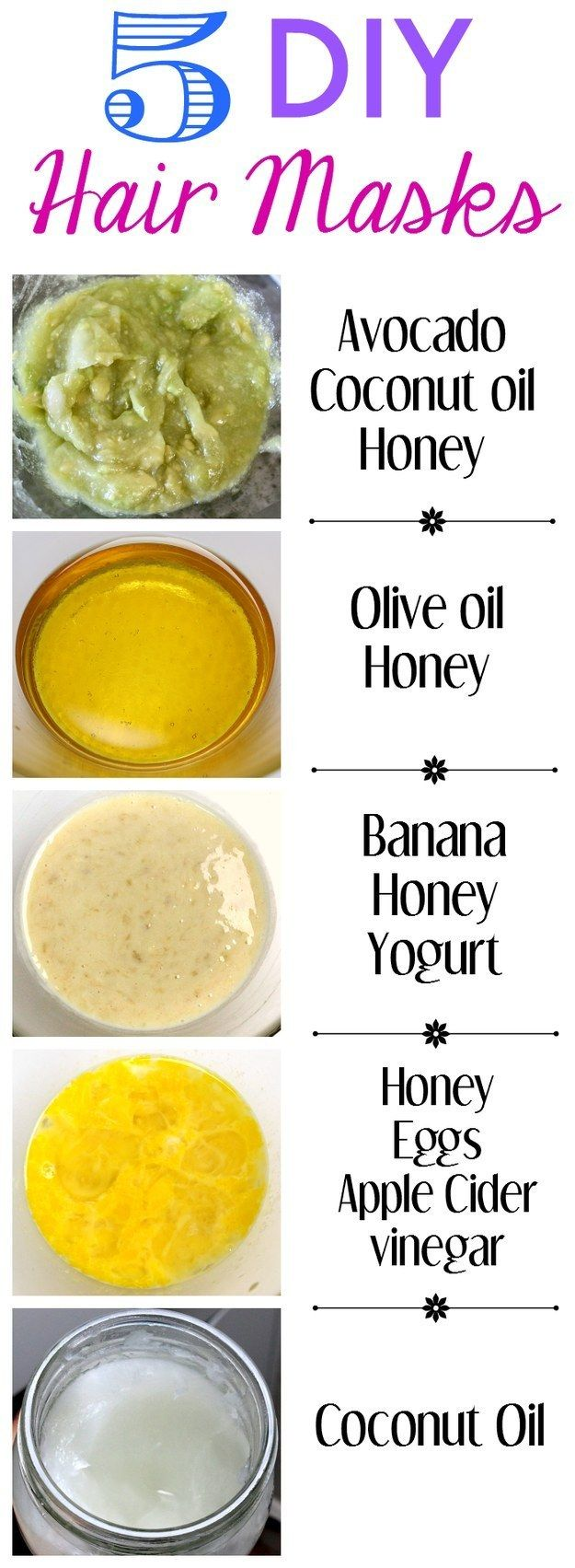 Homemade recipes for restoring your hair