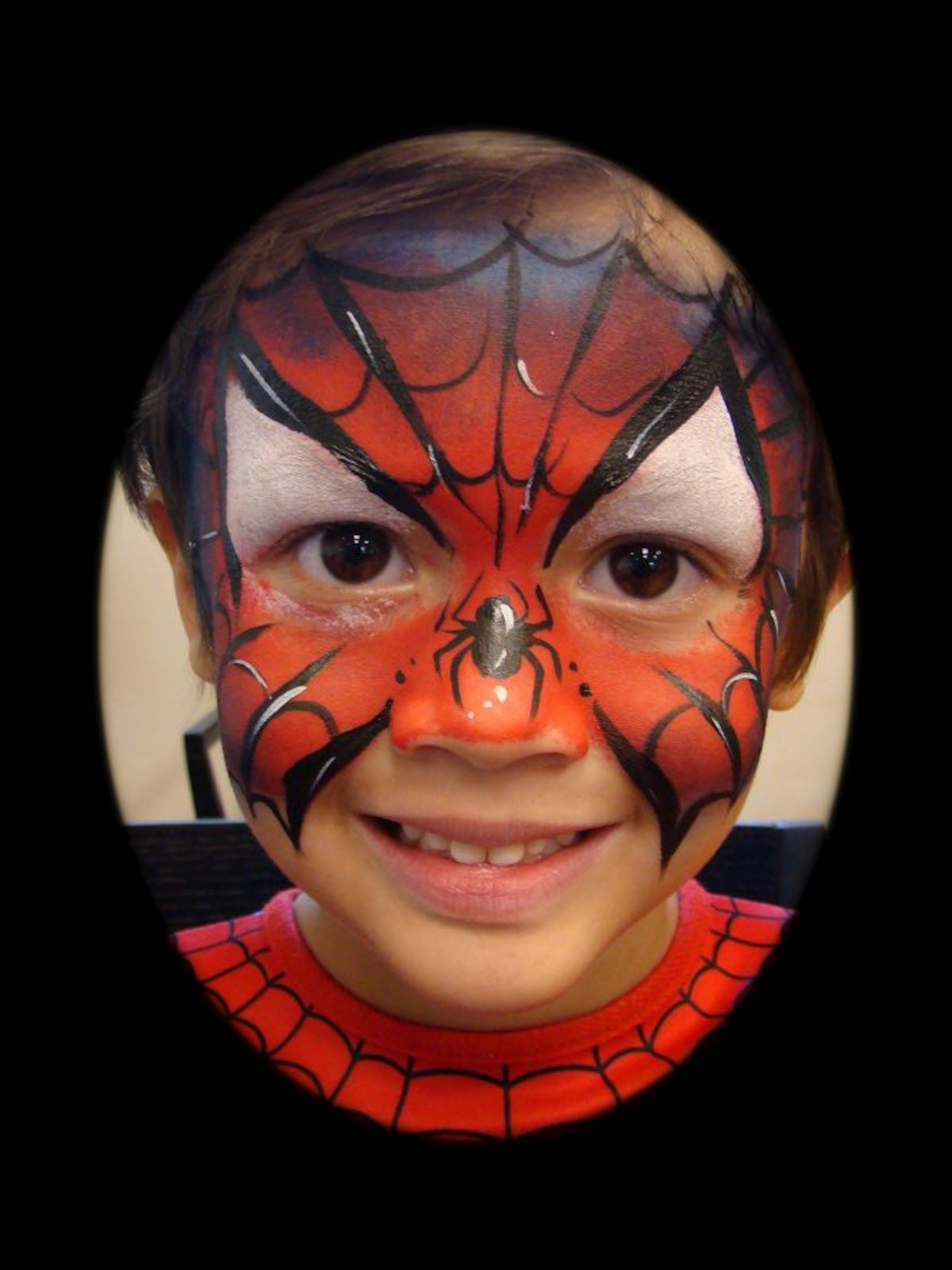 spiderman face paint - Google Search | Face Painting Ideas ...