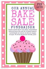 Bake Sale    KimS Fundraiser Ideas    Bake Sale