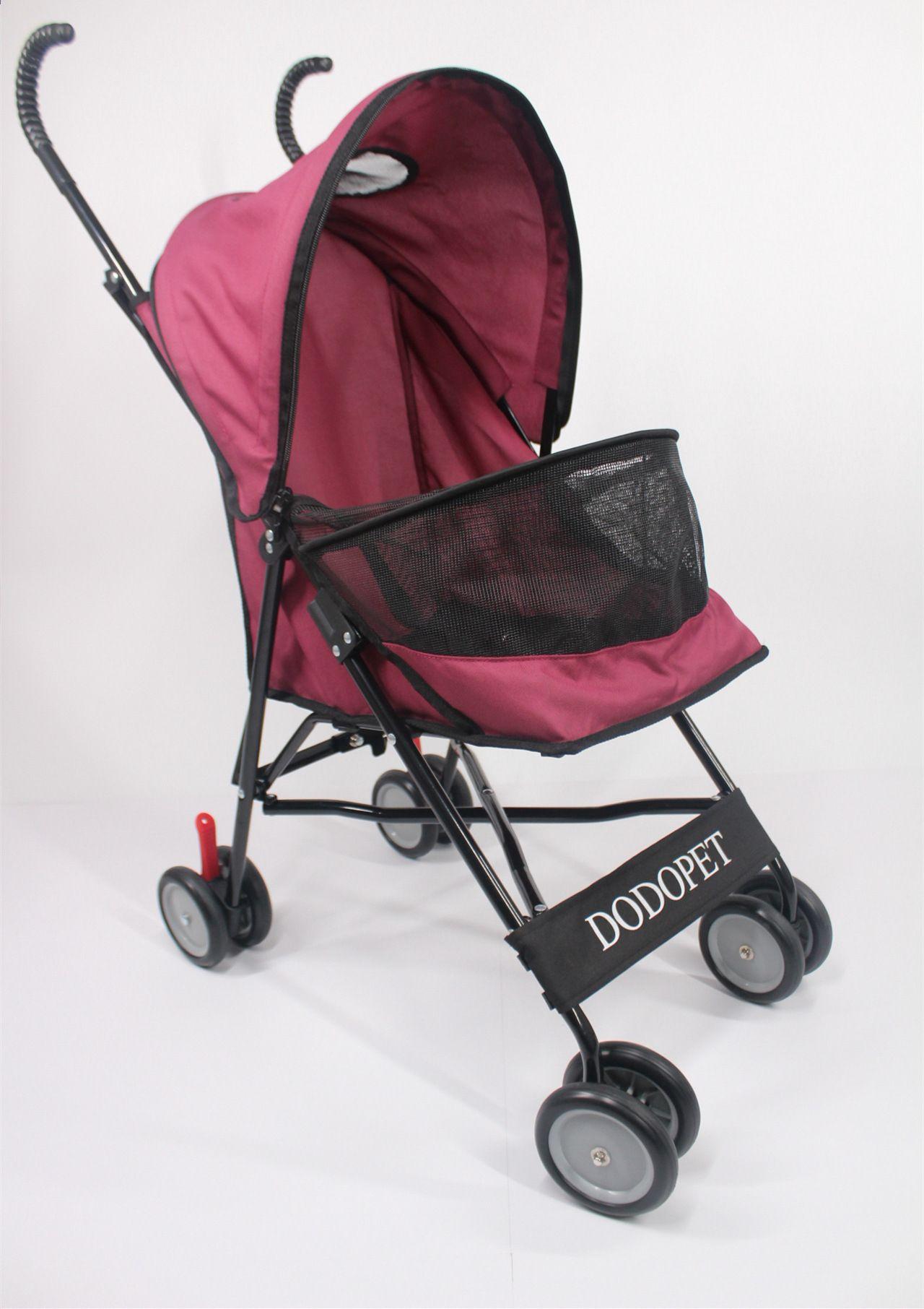 Najnowszy! Moda Przenośny wózek dla kota Składany lekki