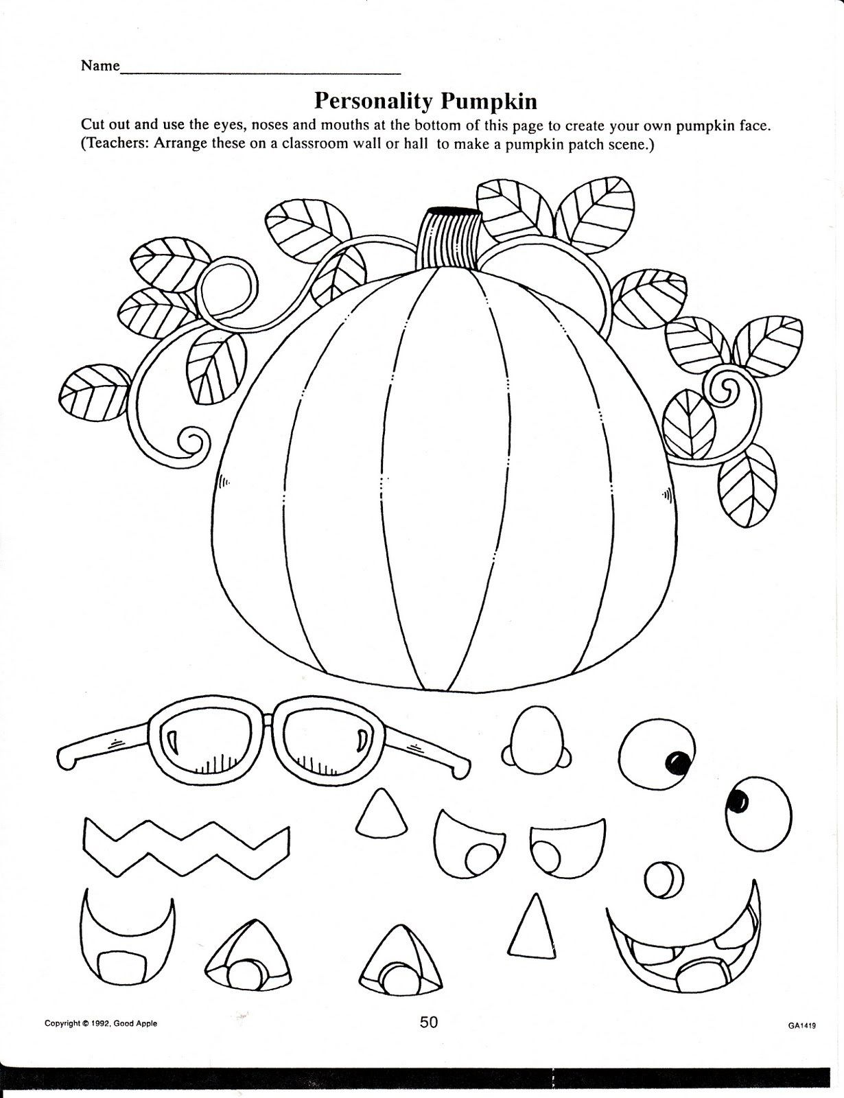 Halloween Worksheets for Kindergarten in 2020 Halloween